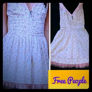 FP EUC🌺Free People🌺 Dazzling Ditsy Dress Sz 2